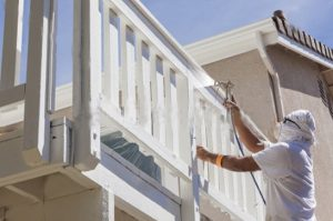 Spraying Railing